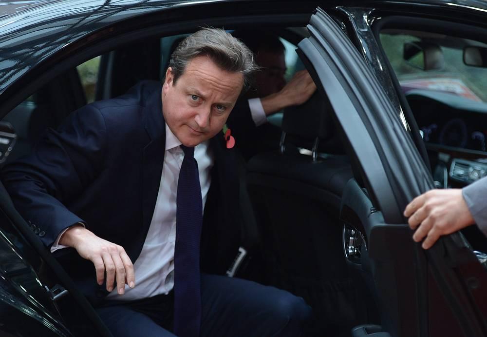 10. Премьер-министр Великобритании Дэвид Кэмерон
