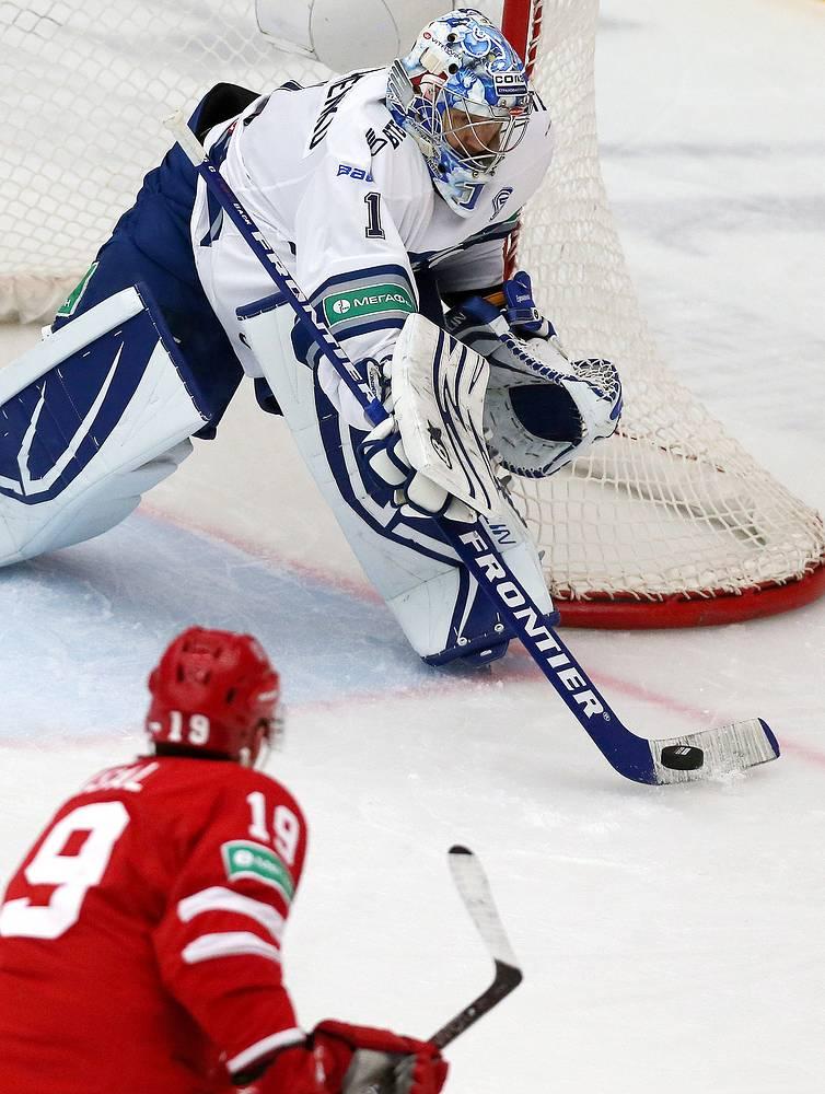 Александр Еременко оставил свои ворота в неприкосновенности во второй раз в сезоне