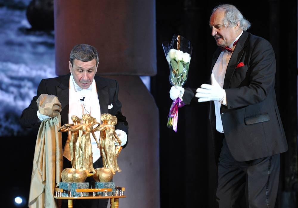Актеры Борис Смолкин и Евгений Тиличеев.