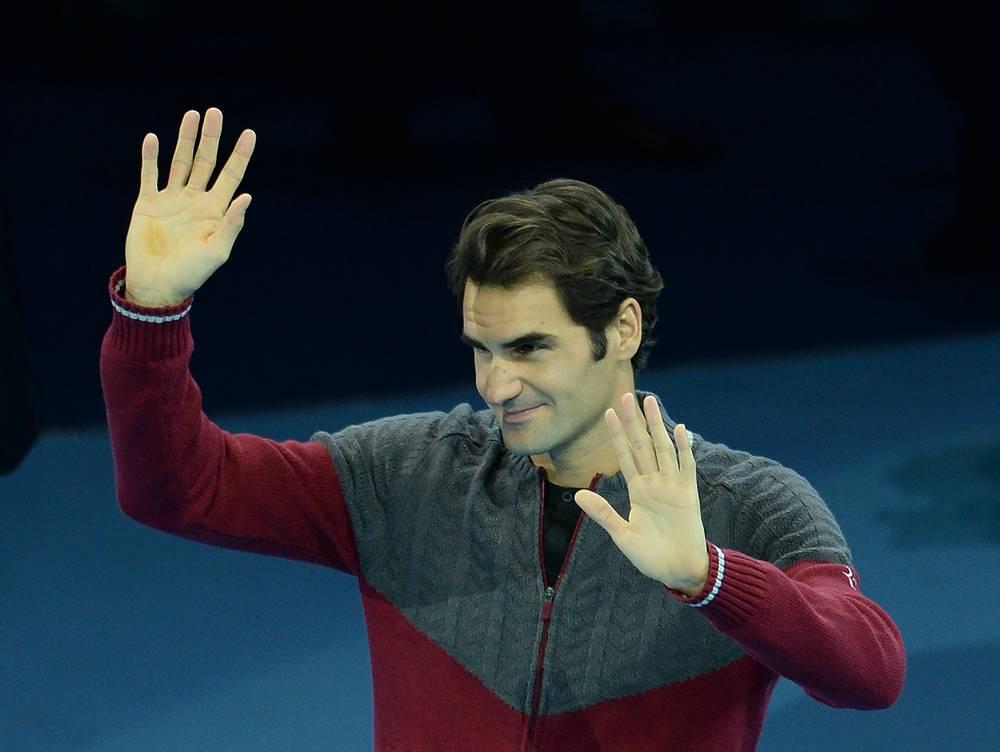 """Роджер Федерер извинился перед болельщиками, собравшимися на """"О2 Арене"""""""
