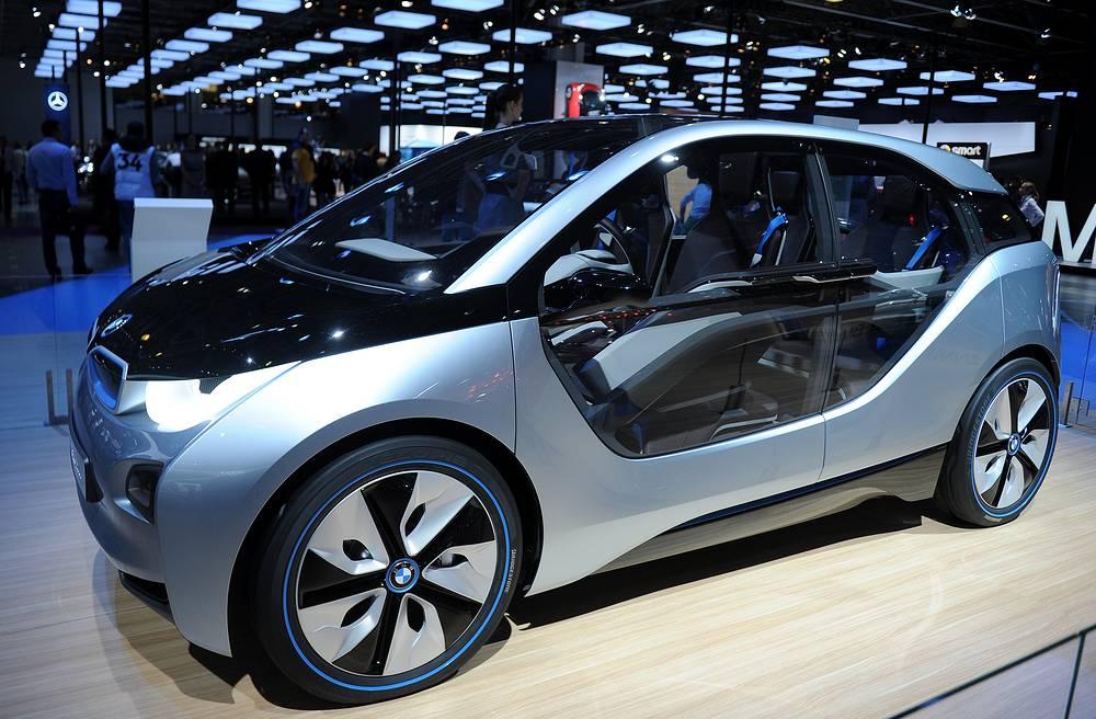 BMW i3 Concept с электрическим приводом