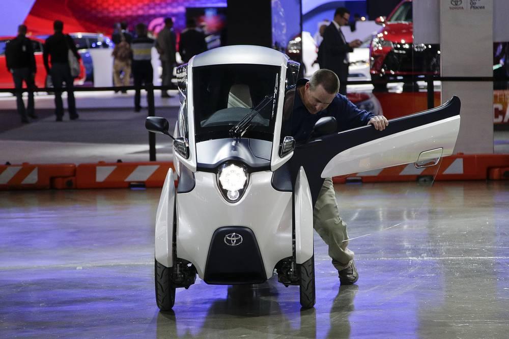 Концепт Toyota i-Road