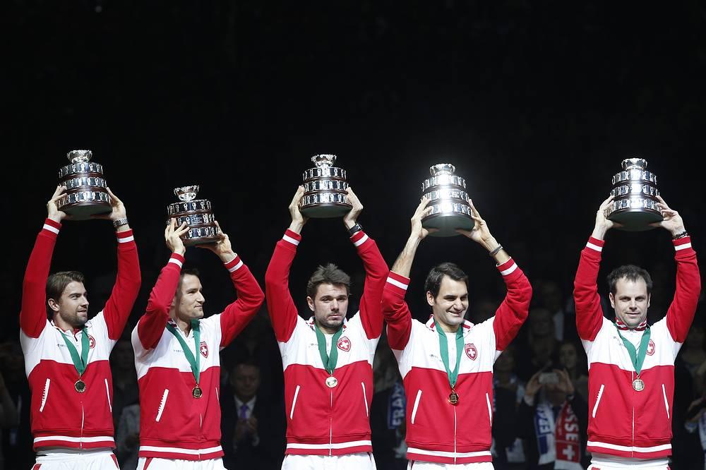 Швейцарские теннисисты