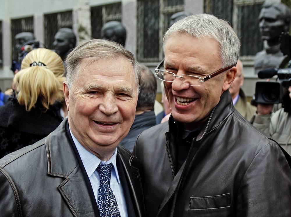 Виктор Тихонов и Вячеслав Фетисов. 2008 год