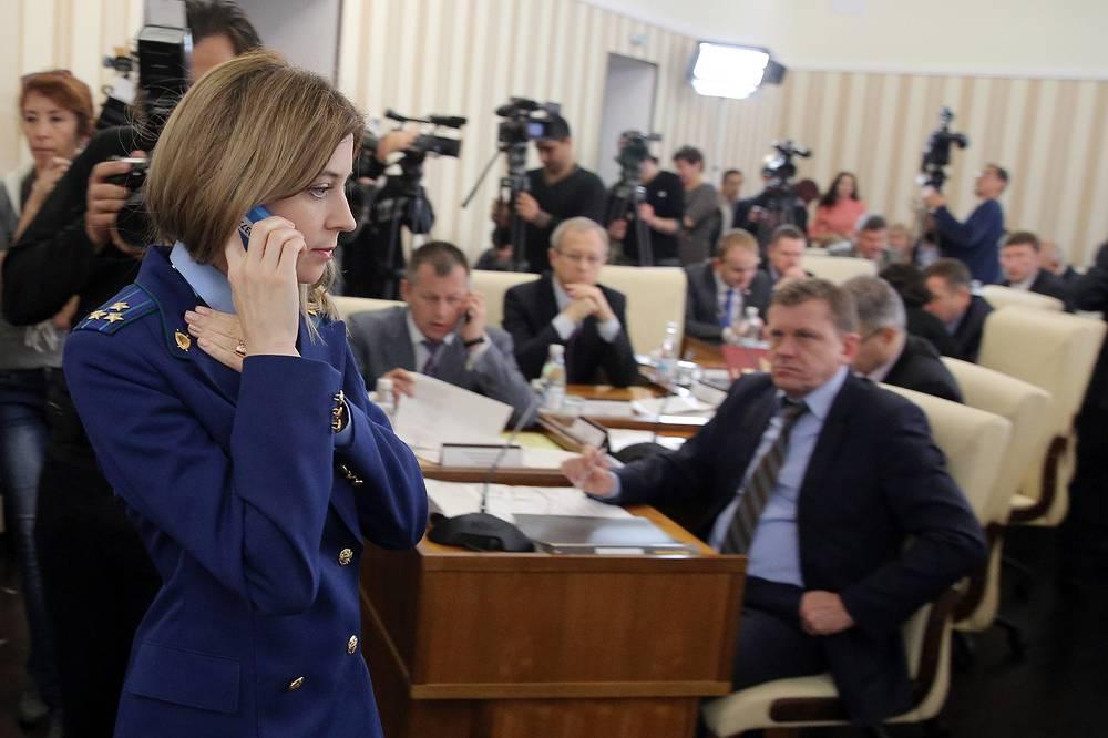 На заседании Совета министров в Симферополе
