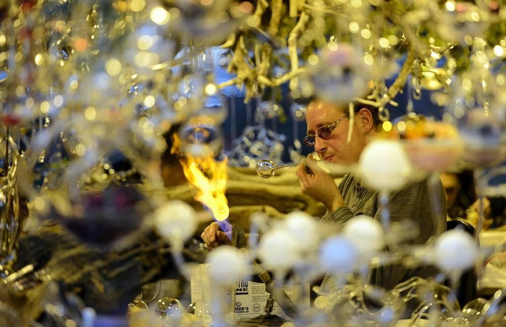 Рождественская ярмарка в Монтре, 21 ноября