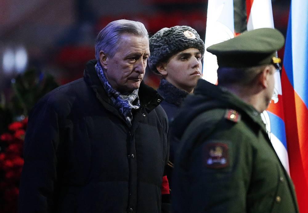 Президент Российской любительской хоккейной лиги Александр Якушев (слева)