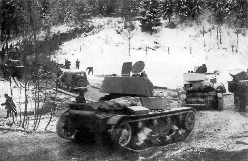 Наступление войск 7-й советской армии в Карелии. Декабрь 1939 года