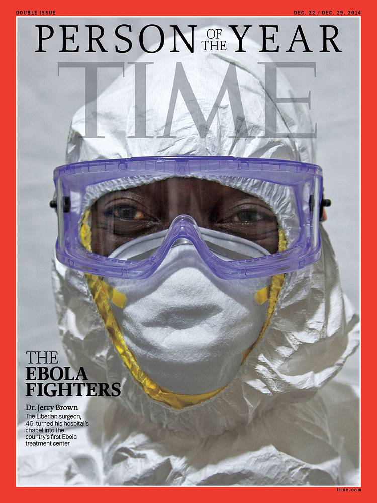 Собирательный образ борца с вирусом Эбола признан человеком года по версии журнала Time