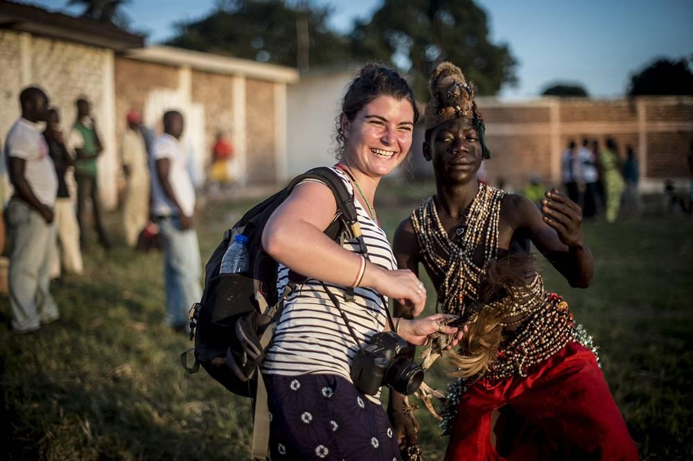 Французская фотожурналистка Камиль Лепаж погибла 13 мая во время конфликта в Центральноафриканской Республике