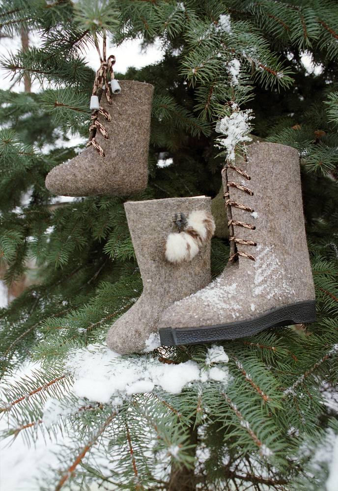 Одно из старейших предприятий России Битцевская фабрика выпускает валяную обувь из шерсти с 1898 года