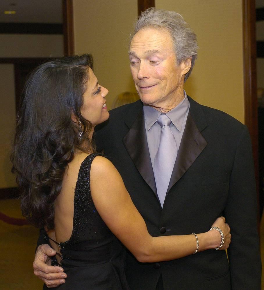 Дина и Клинт Иствуд