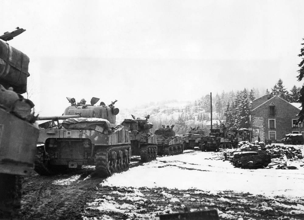 Англо-американские войска приблизились к немецким границам с запада