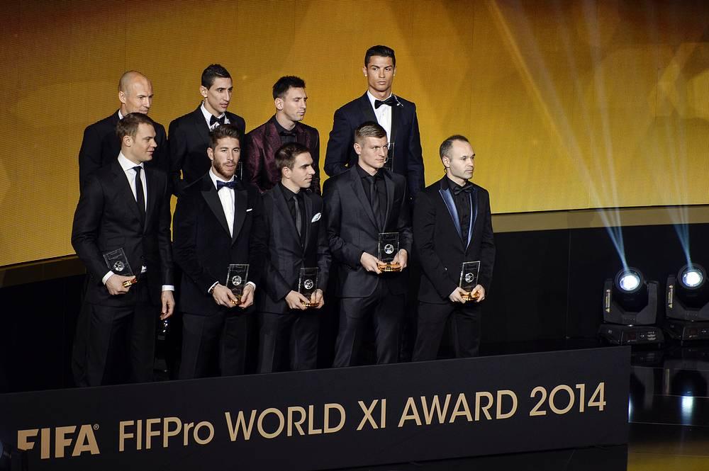 Символическая сборная ФИФА 2014 года