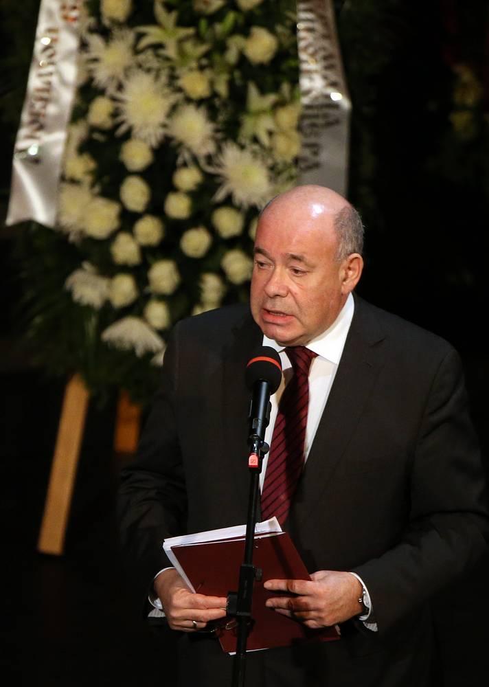 Специальный представитель президента РФ по международному культурному сотрудничеству Михаил Швыдкой