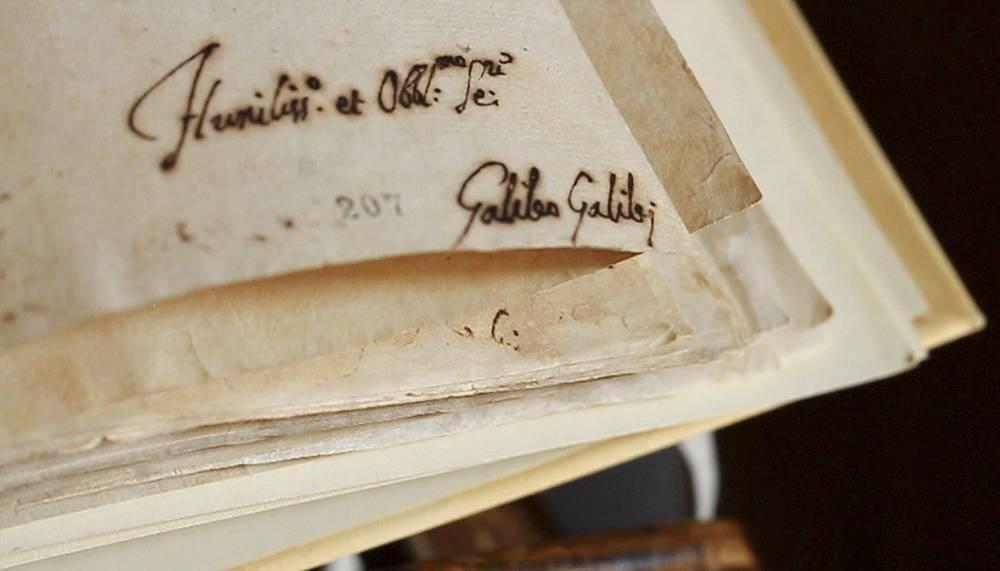Подпись Галилео Галилея