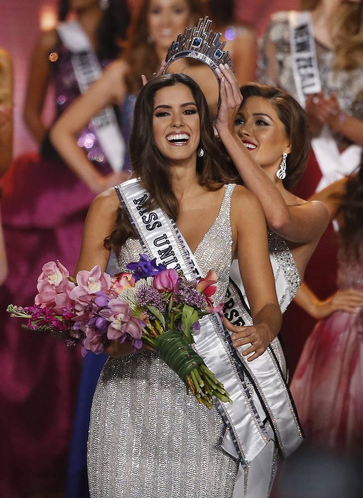 Мисс Вселенная - 2014 Паулина Вега и мисс Вселенная - 2013 Габриэла Ислер