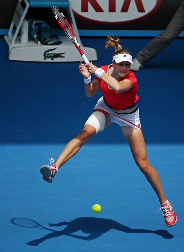 Екатерина Макарова в матче 4-го круга выиграла со счетом 6:3, 6:2