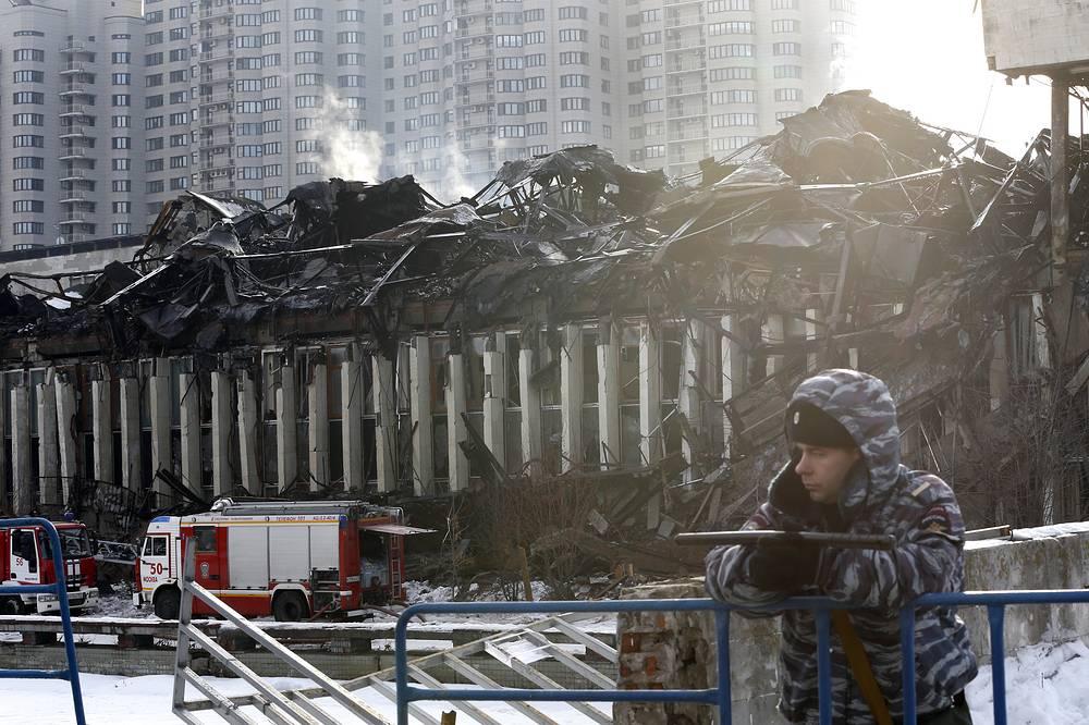 2 февраля прокуратура Москвы начала проверку в связи с пожаром в библиотеке ИНИОН