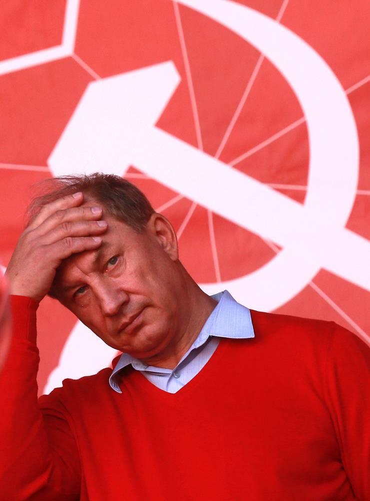 Руководитель столичного отделения КПРФ Валерий Рашкин