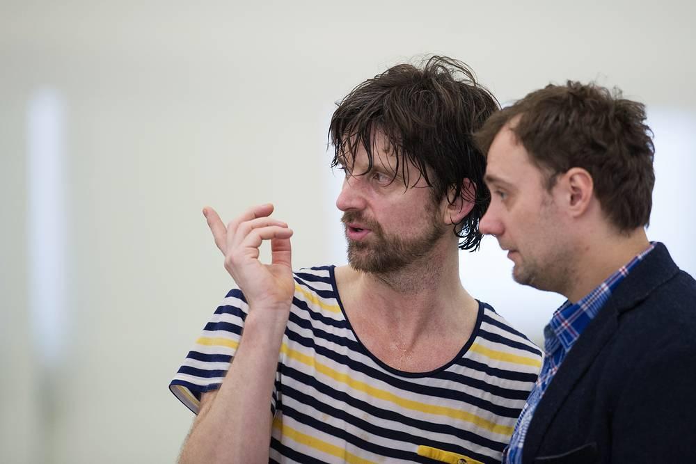Хореограф Пол Лайтфут и художественный руководитель екатеринбургского балета Вячеслав Самодуров (слева направо)