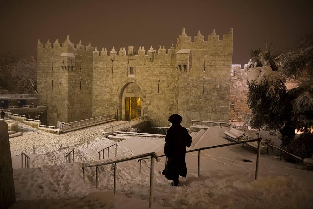 Вид на Старый город в Иерусалиме