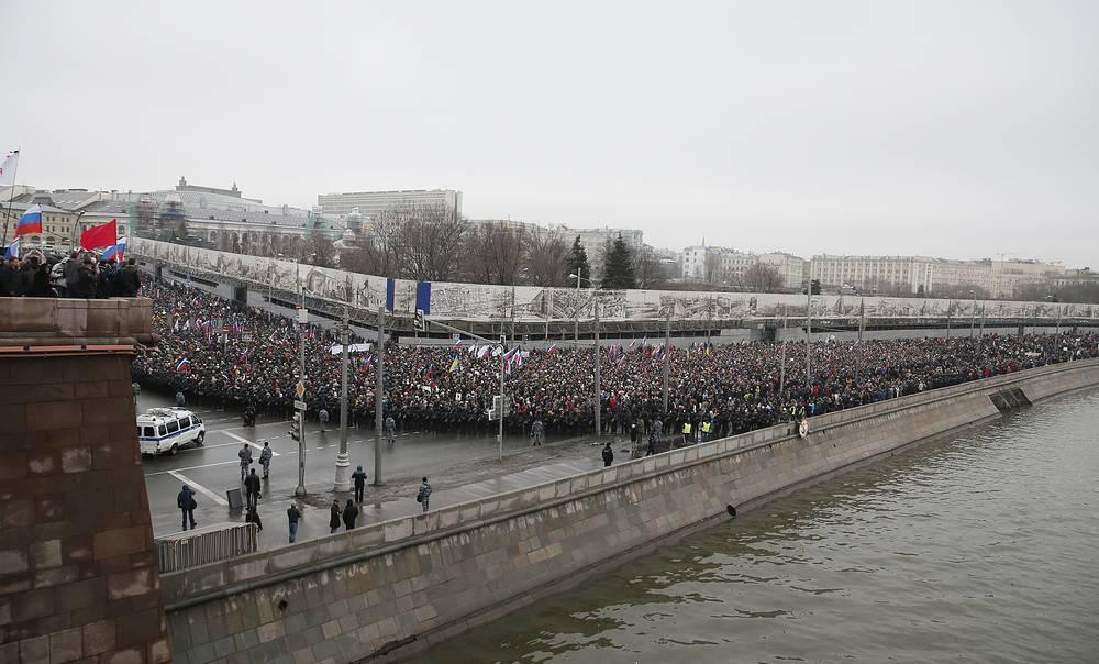 По завершении акции в центре Москвы было полностью восстановлено движение транспорта
