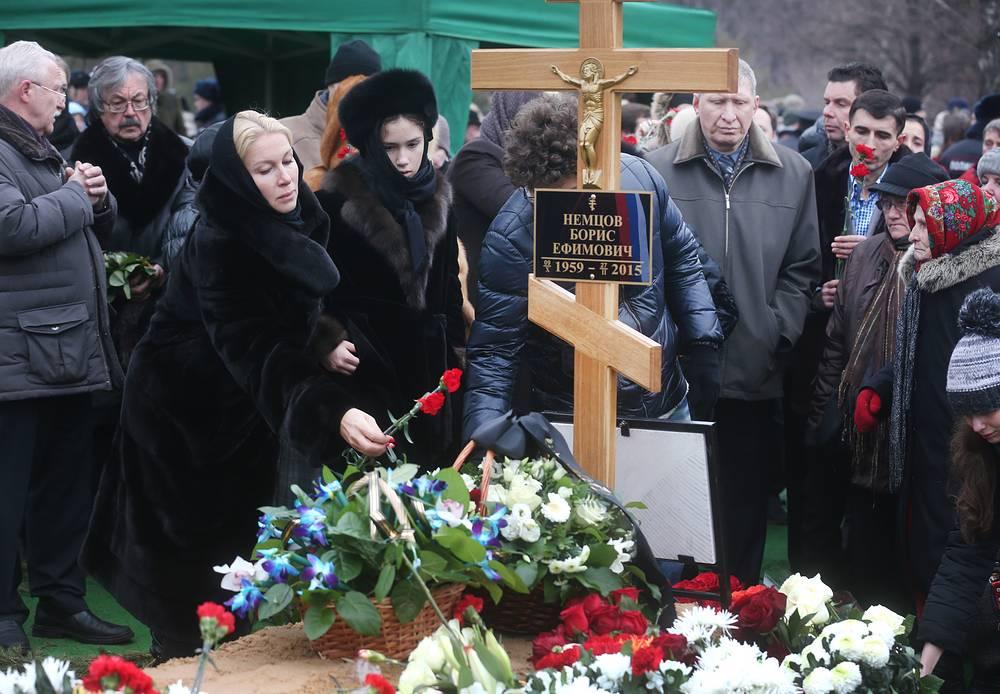 Журналистка Екатерина Одинцова с дочерью Бориса Немцова Диной