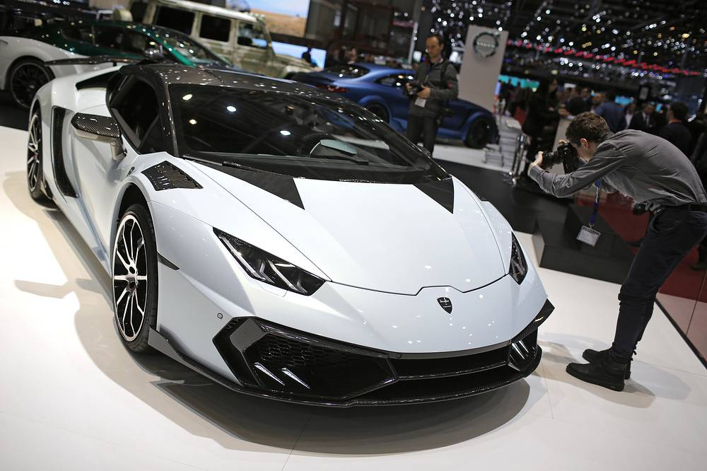 Суперкар Mansory Torofeo на базе Lamborghini Huracan