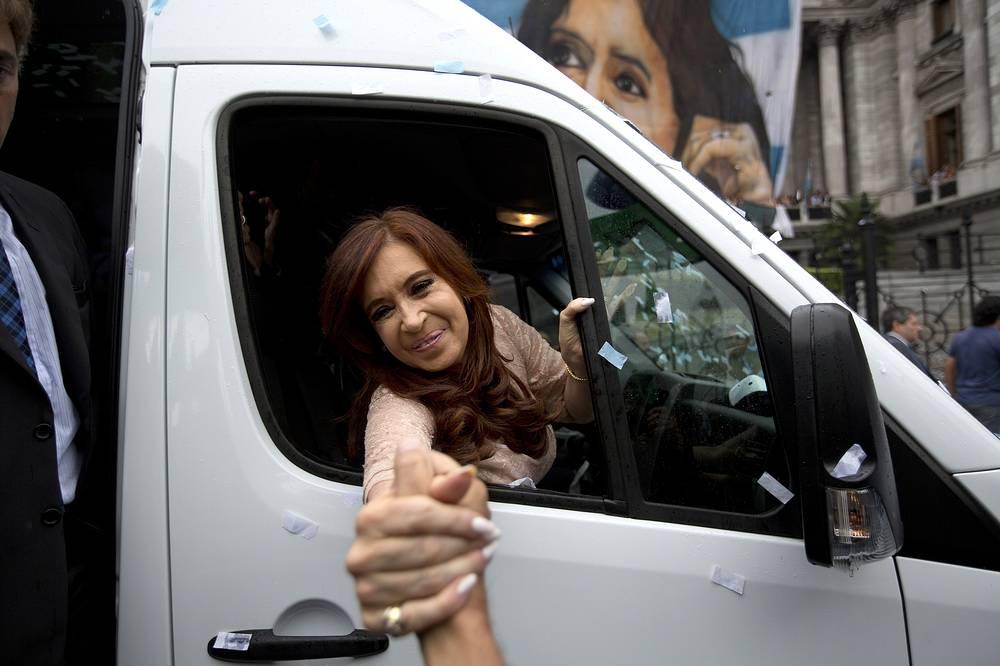 Президент Аргентины Кристина Фернандес де Киршнер - $10 тыс. в месяц