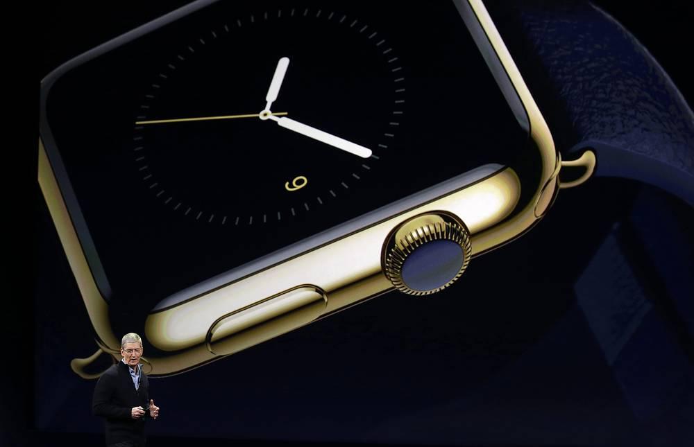 """""""Умные часы"""" обладают всеми уведомлениями смартфонов Apple, включая социальные медиа"""", - сказал Кук"""