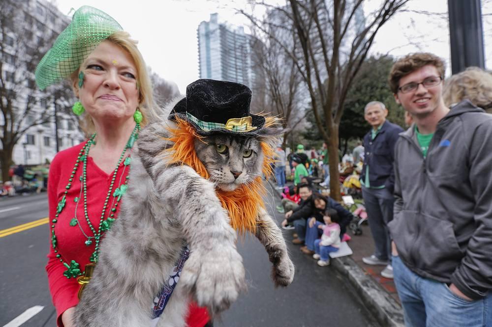 День Святого Патрика отметили в Атланте