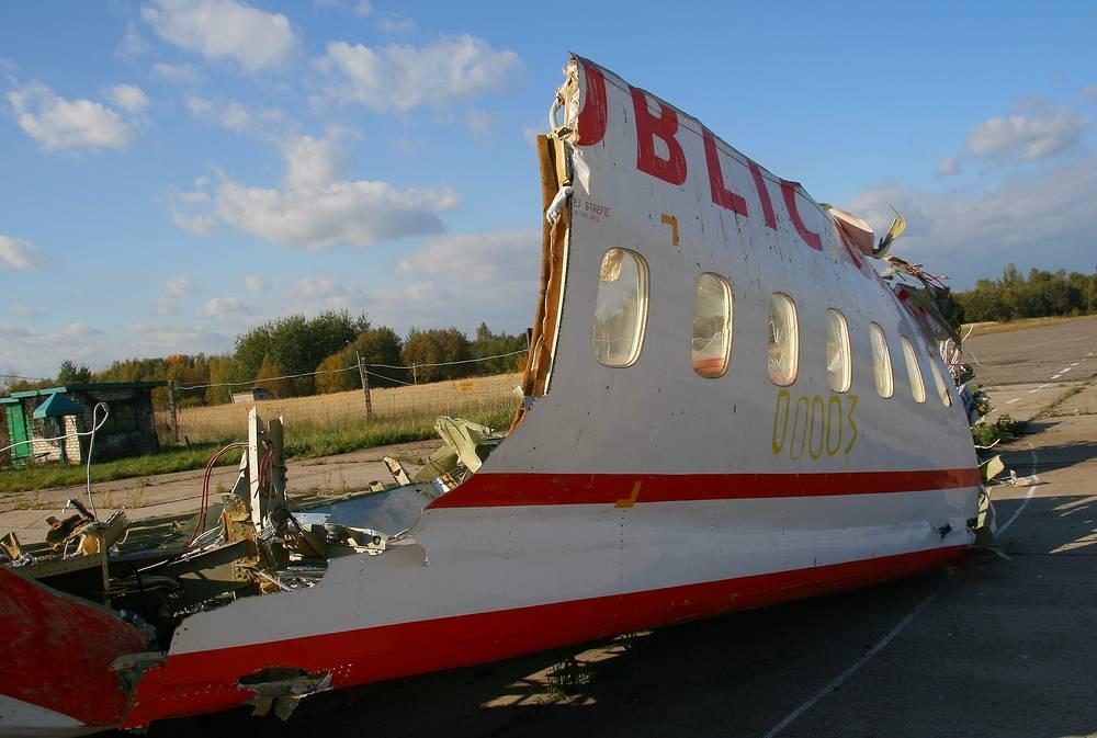 Российская сторона неоднократно заявляла, что обломки лайнера, которые являются вещдоками, после завершения следствия будут возвращены польской стороне