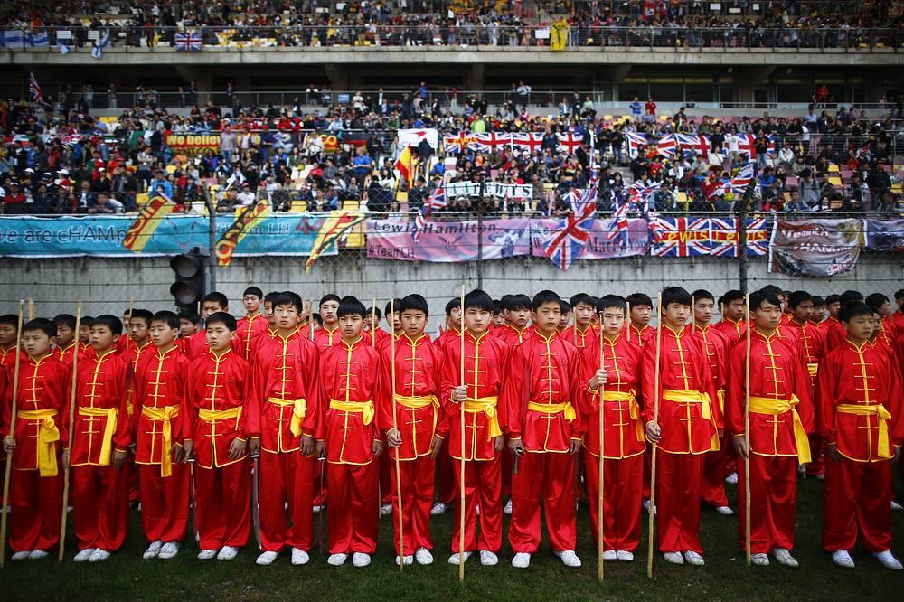 Перед началом Гран- при Китая