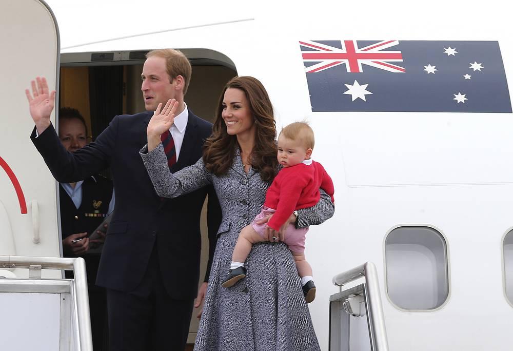 В апреле 2014 года герцог и герцогиня Кембриджские Уильям и Кейт отправились в трехнедельное турне по Австралии и Новой Зеландии вместе со своим девятимесячным сыном принцем Джорджем