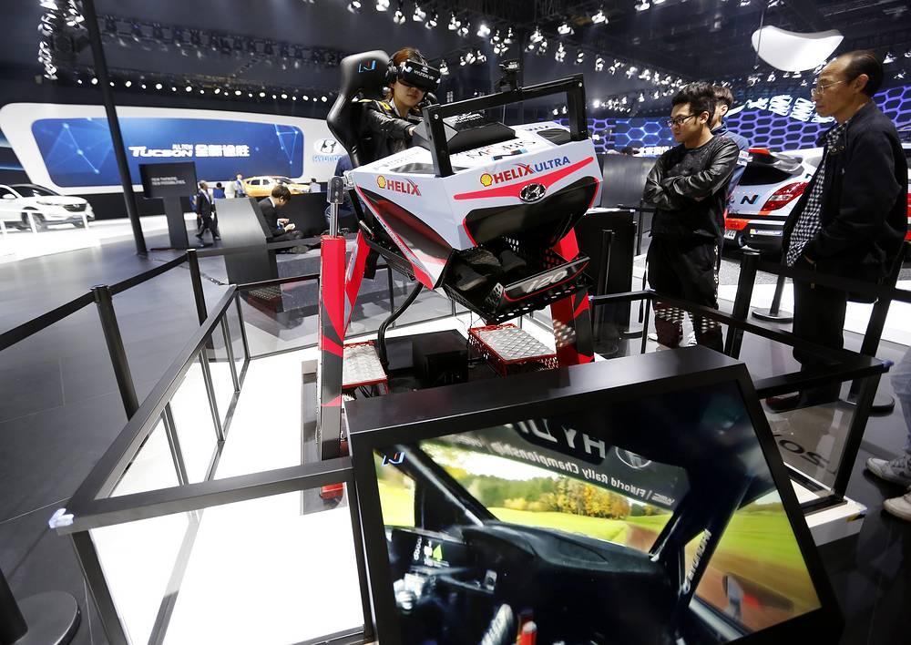 Симулятор виртуальой реальности Hyundai