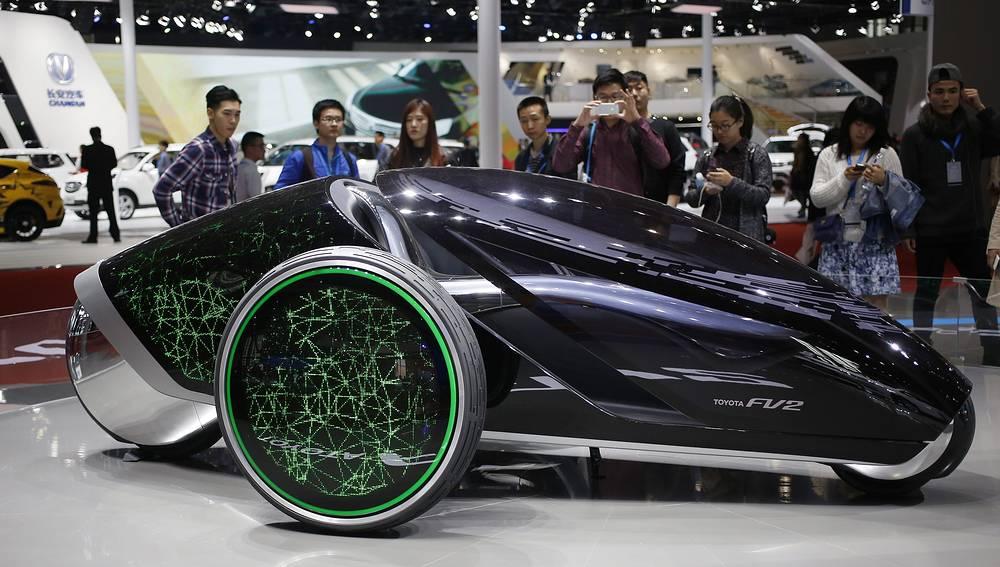 Концепт-кар Toyota FV2