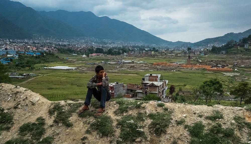 Обрушившиеся кирпичные заводы в долине Катманду - ни один из них не уцелел