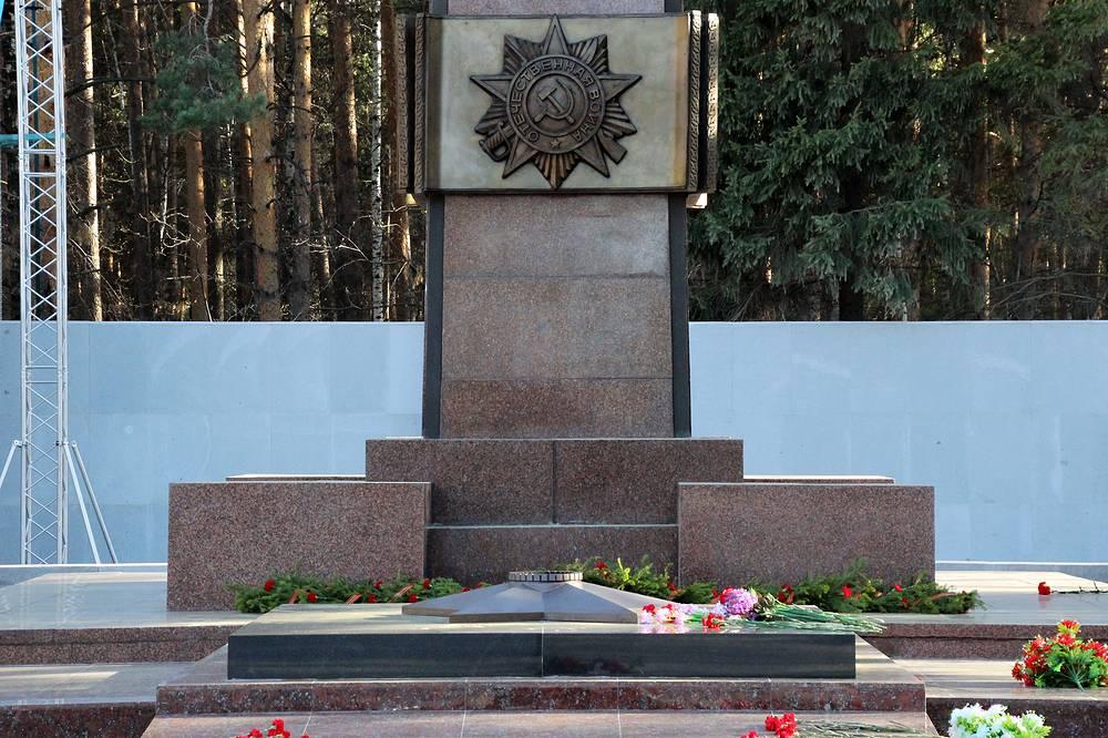 Широкореченский военно-мемориальный комплекс в Екатеринбурге, где будет зажжен Вечный огонь