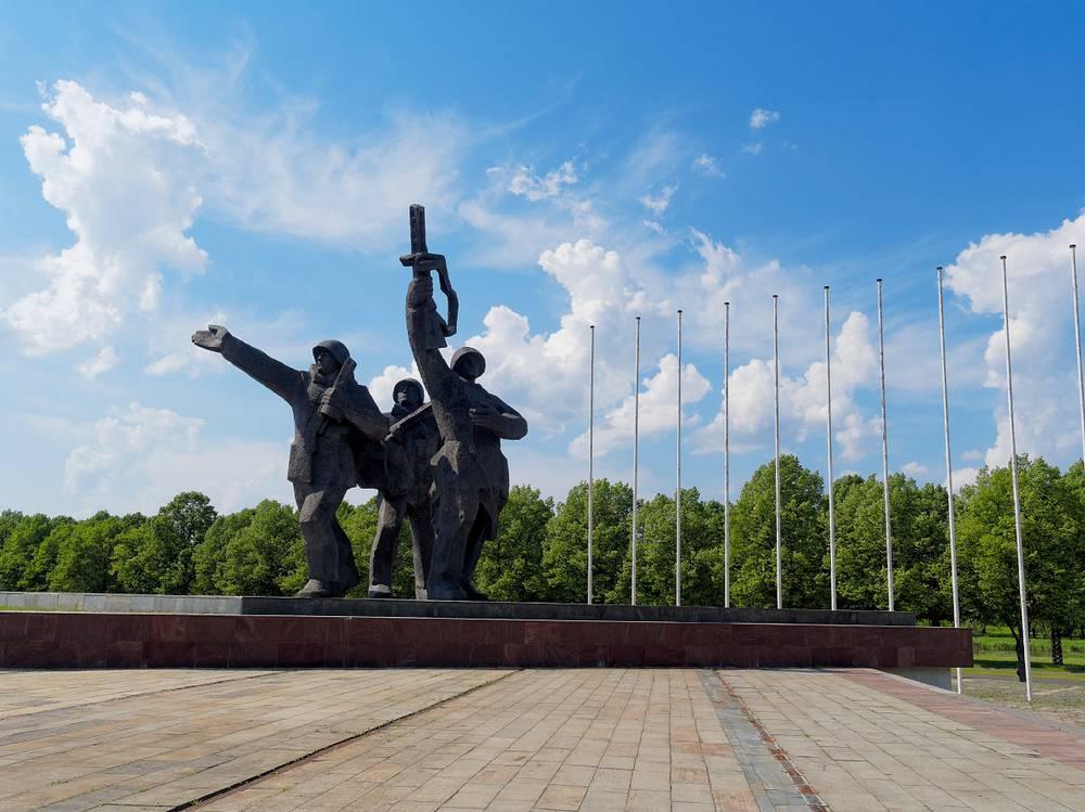 Памятник освободителям Советской Латвии и Риги от немецко-фашистских захватчиков