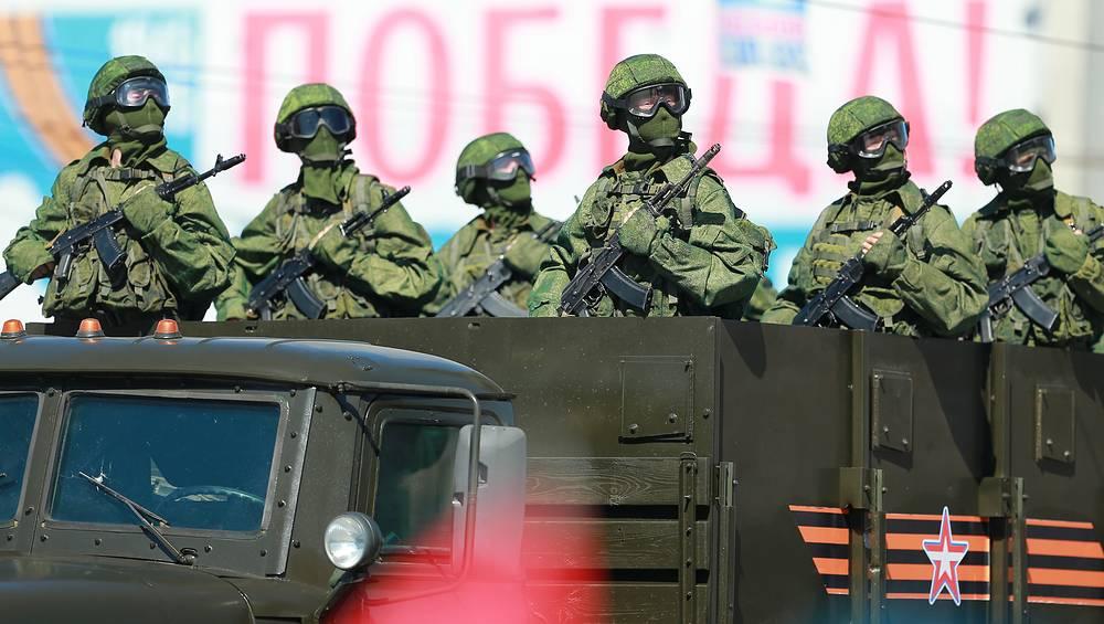 Военный парад в Иваново