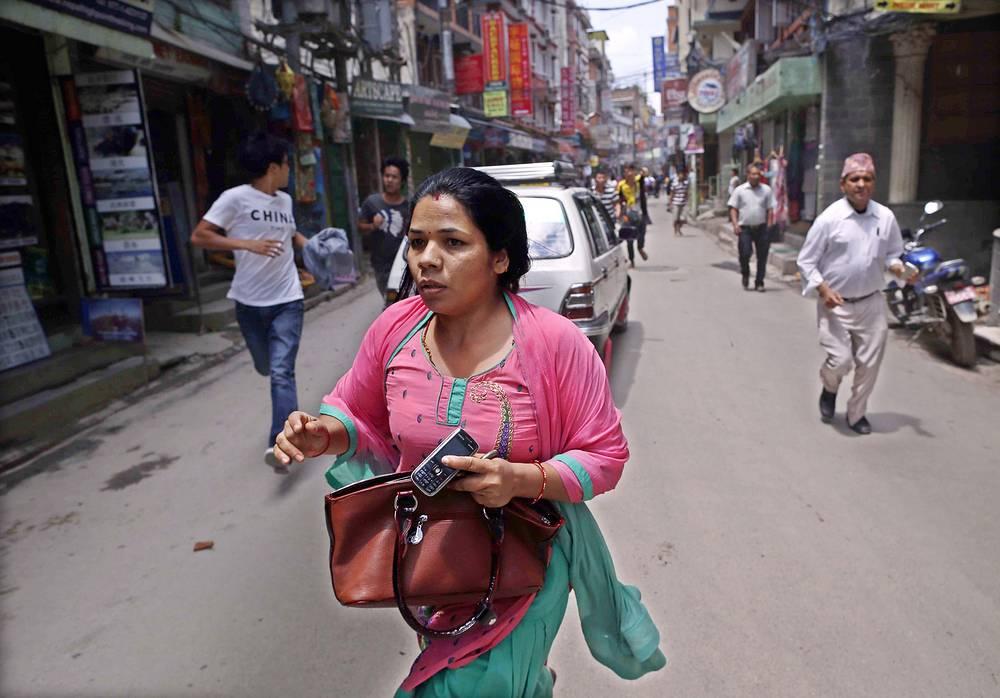 12 мая в Непале произошло новое землетрясение магнитудой 7,3