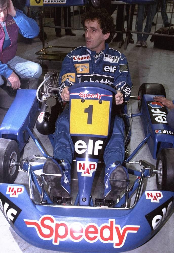 Наибольшее количество побед на историческом Гран-при Великобритании одержали француз Ален Прост (на фото) и Джим Кларк
