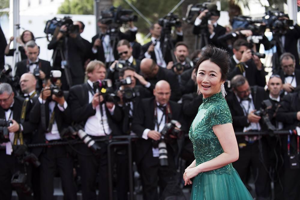Актриса Чжао Тао