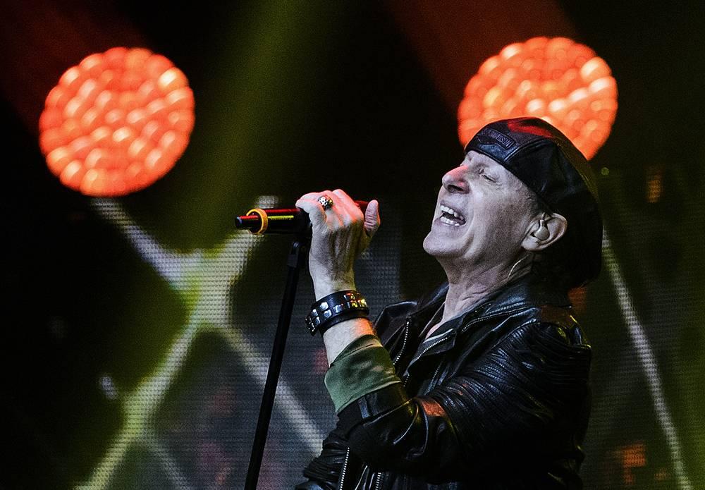 Вокалист Scorpions Клаус Майне