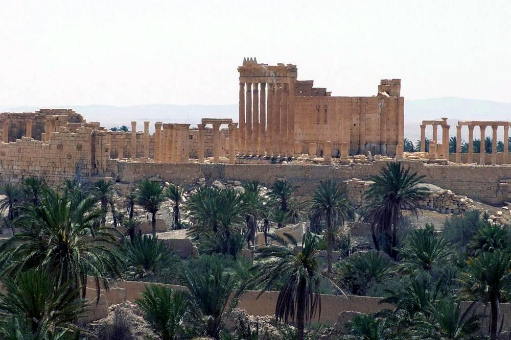 """""""У стен античной Пальмиры идет битва между цивилизацией и варварством"""", - считает директор Департамента древностей и музеев Маамун Абдель Керим"""
