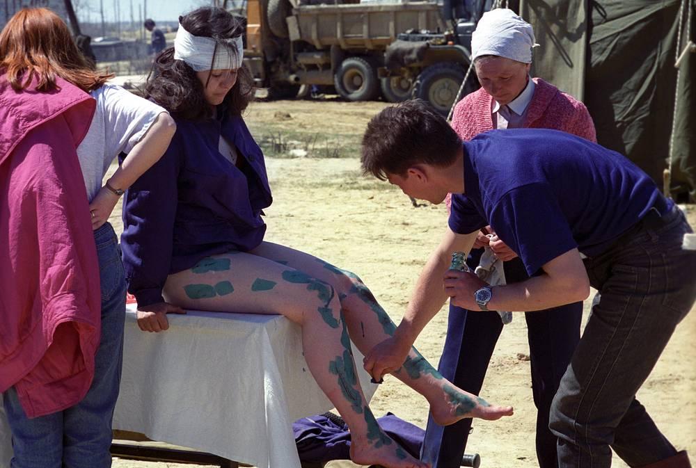 Ранения разной степени тяжести получили около 720 человек