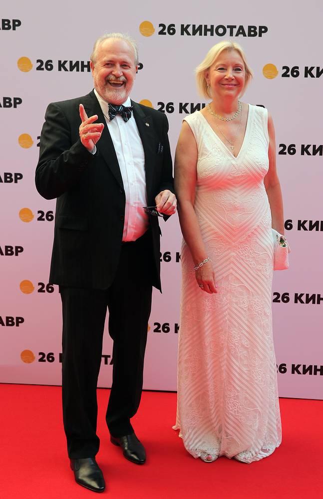 Режиссер Владимир Хотиненко и его супруга Татьяна Яковлева