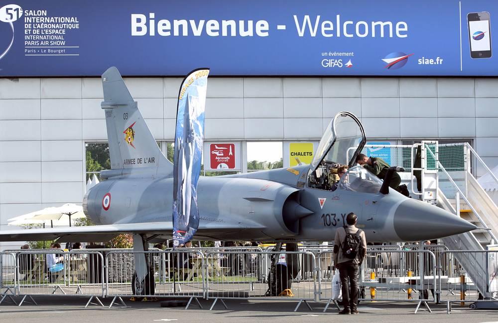 Истребитель Dassault Mirage 2000C
