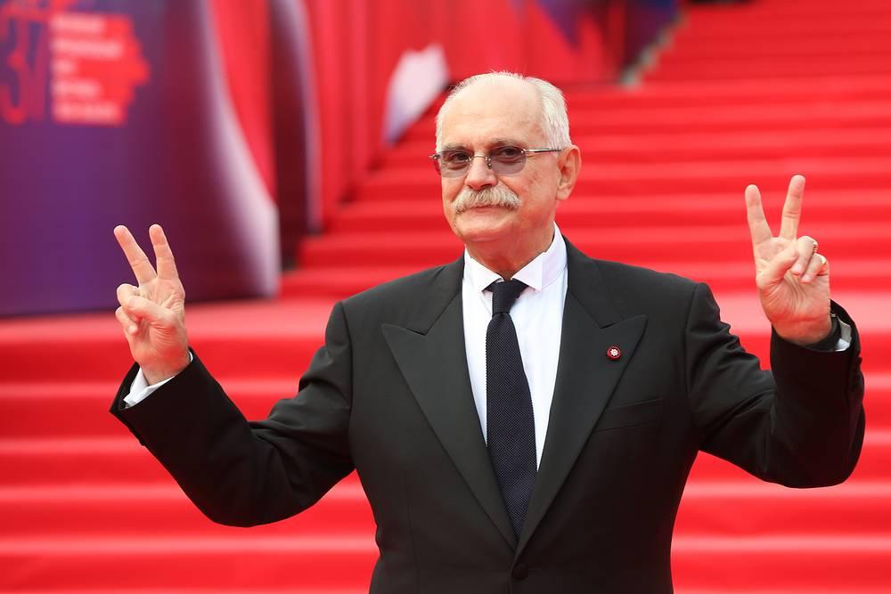 Председатель Союза кинематографистов России, президент ММКФ Никита Михалков